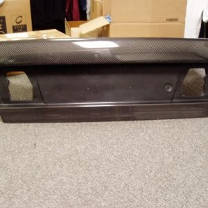 Carbon Bootlid
