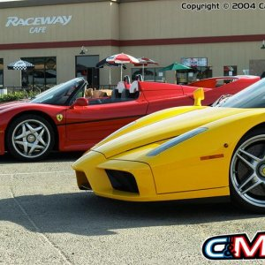 f50 and enzo