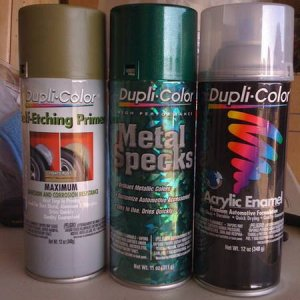 spray paint trio