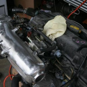 Polished VE intake