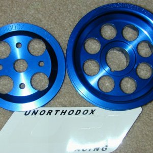 UR Crank & H2O Pump Pulleys
