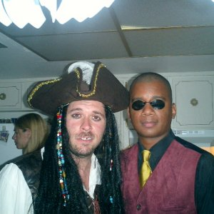 Me and Capt Jack Sparrow