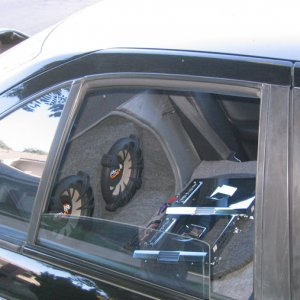 Amplifiers and Subs in Car