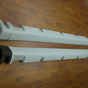 P10 2.0eGT Side Skirts