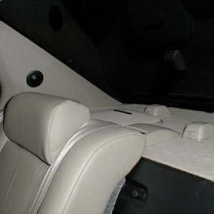 Diamond HEX S600s in RearDeck