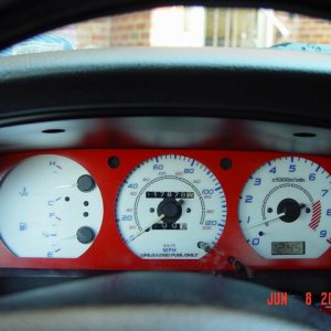 gauges and custom bezel