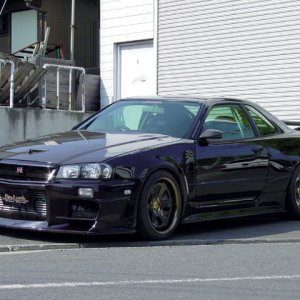 Do Luck R34 Vspec ll BABY!!!!