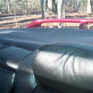 Rear deck mat