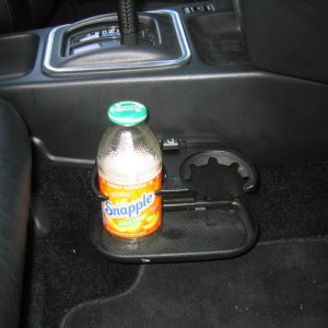 Cup Holder Open