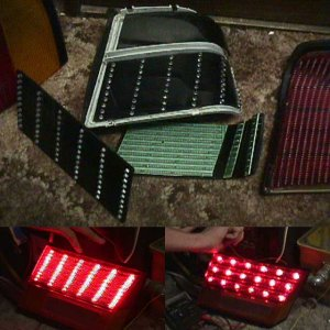 LED taillights progress update