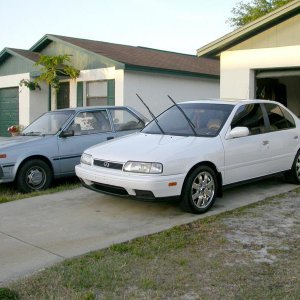 My G20 and my project 86 Sentra